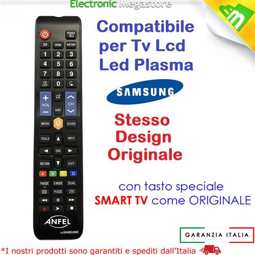 Telecomando Universale Per Tutti I Tv Samsung Lcd Led Smart Tv 3d Come Originale Ebay