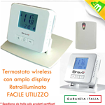 Termostato digitale Wireless - BRAVO 93003103