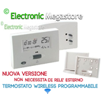 CRONOTERMOSTATO WIRELESS AIR DIGITALE PROGRAMMABILE SENZA FILI SETTIMANALE