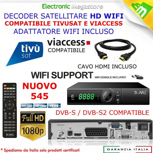 Decoder Satellitare Bware 545