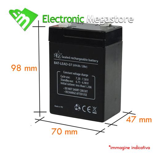 Batterie Per Lampade Di Emergenza Ova.35495 Batteria Ricaricabile Per Lampade Di Emergenza Beghelli 6