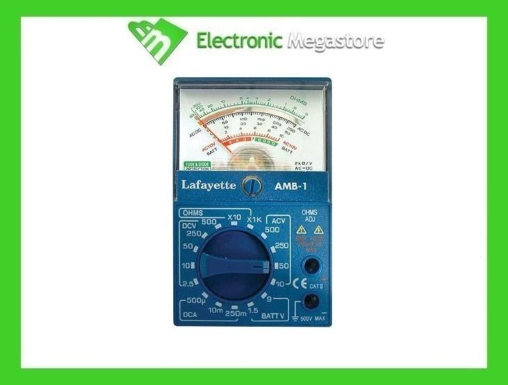 Lafayette amb 1 multimetro analogico con 16 gamme di misurazioni ebay - La finestra lafayette ...